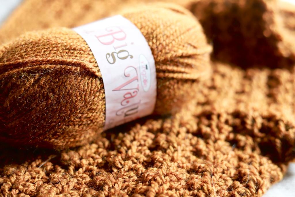 King Cole Big Value Chunky Yarn Texture
