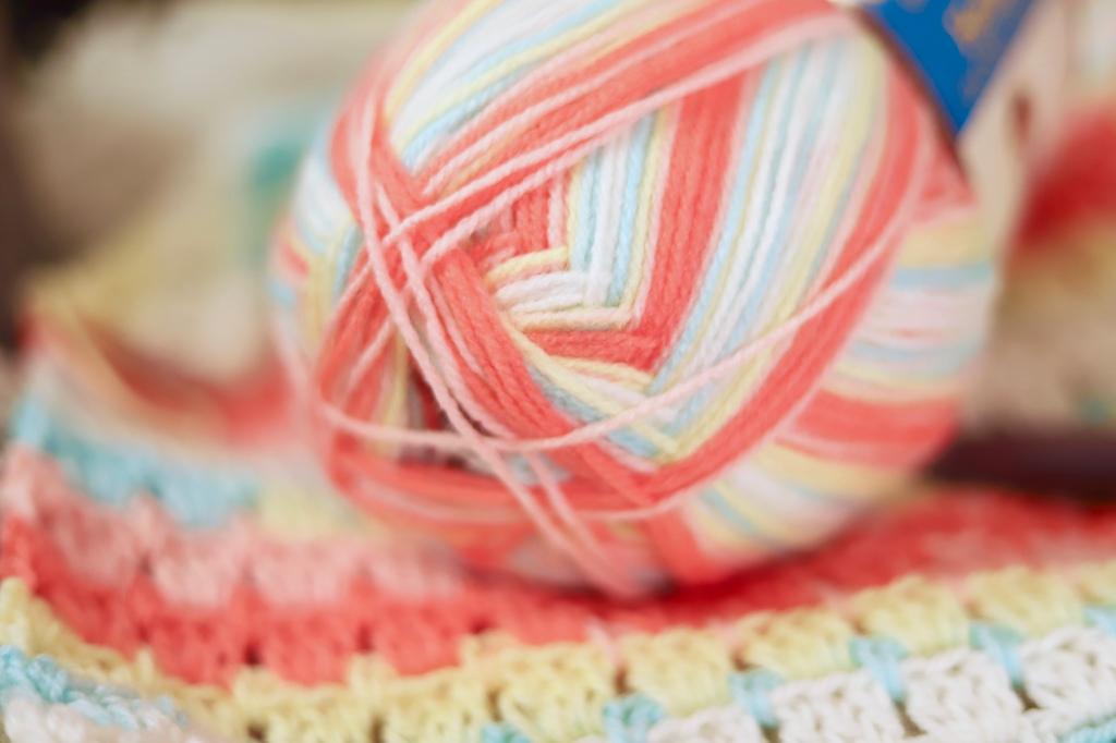 Ice Cream Big Scoop Yarn Texture