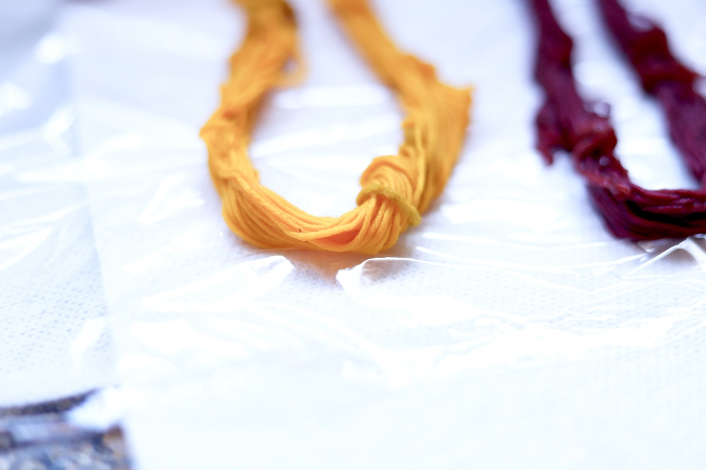 dyed cotton